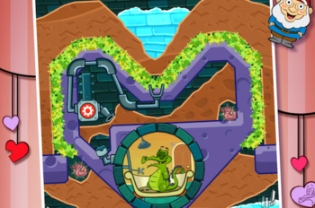 Swampy and Perry Feel the Love in Free Update 'Where's My Valentine?'