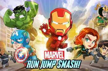 Save the World in Marvel Run Jump Smash! Now Available on iOS, Android, and Windows Devices