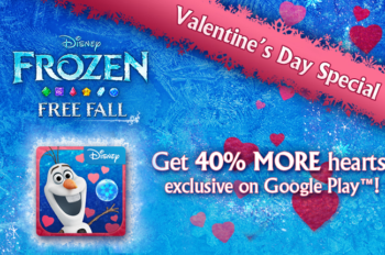 Disney Interactive Shows Love for Google Play this Valentine's Day