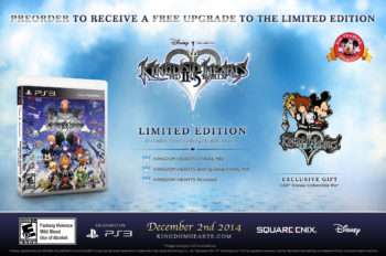 Kingdom Hearts HD 2.5 ReMIX Announces Pre-Order Limited Edition