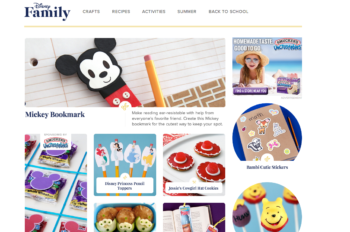 Introducing Disney Family, a new home for all your favorite Disney recipes, crafts, and activities