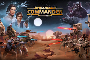 """Choose a Side and Build an Unstoppable Force in the Mobile Game """"Star Wars™: Commander"""""""