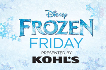 """Disney Interactive and Kohl's Invite """"Frozen"""" Fans to Sing Their Hearts Out for Chance to be Featured in Kohl's Holiday Commercial"""