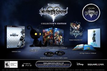 Pre-order Square Enix's KINGDOM HEARTS 2.5 ReMIX Collector's Edition Today!