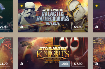 Star Wars™ Classic Games Take Over GOG.com in January