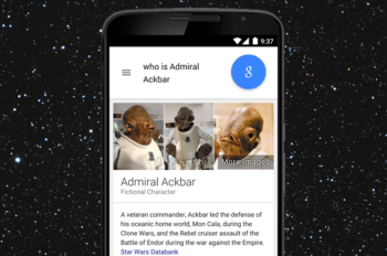 StarWars.com Joins Forces with Google Search to Introduce Star Wars Answer Cards