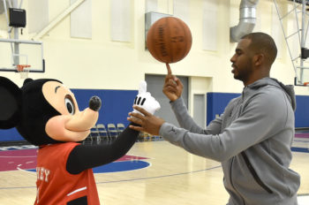 Mickey Mouse Brings Disney Magic to Anticipated Clippers vs. Cavaliers Game