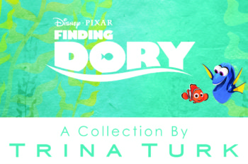 'Just Keep Swimming' in Style with the Finding Dory Collection from Trina Turk