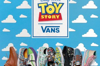 Vans goes to Infinity and Beyond with Toy Story-Inspired Footwear and Apparel Collection