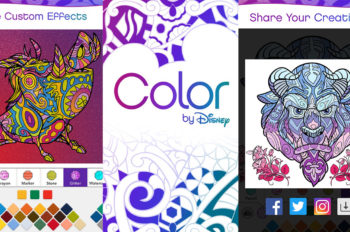 'Color by Disney' App Now Available For Mobile Devices
