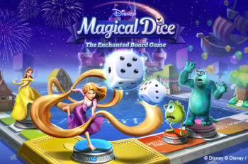 """Disney Magical Dice: The Enchanted Board Game"" Goes Live Today!"