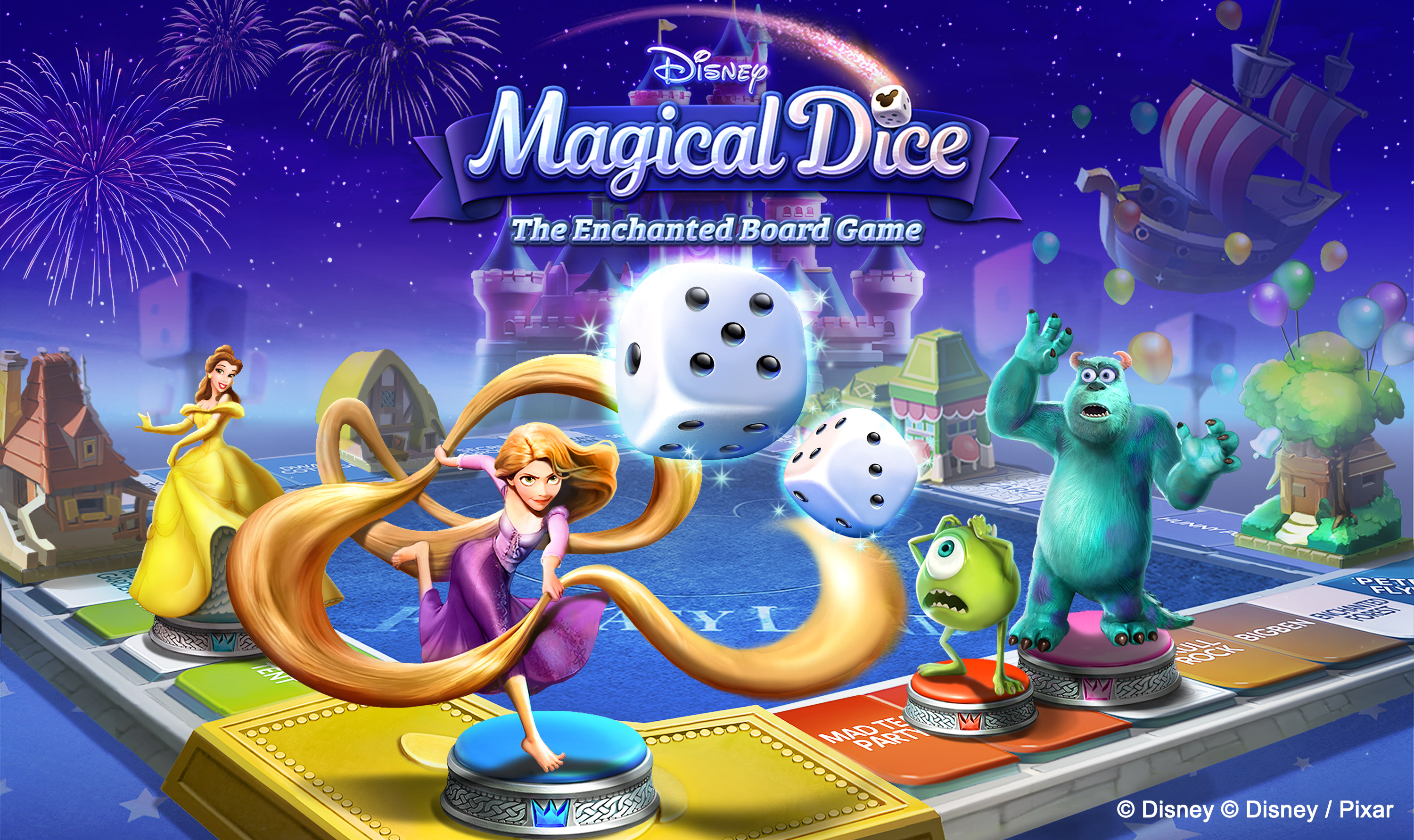 """Disney Magical Dice: The Enchanted Board Game"" Goes Live"