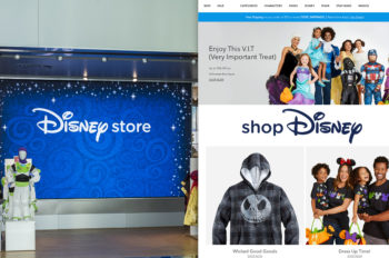 Disney Reimagines Retail with New E-commerce Destination and Prototype Store Design