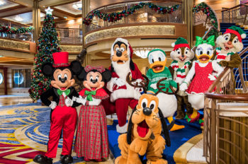 A Magical Winter Holiday Awaits Aboard Disney Cruise Line