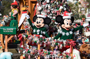 Holidays at the Disneyland Resort Returns Nov. 9, 2018-Jan. 6, 2019, with Popular Festival of Holidays and 'Believe … in Holiday Magic' Fireworks Spectacular