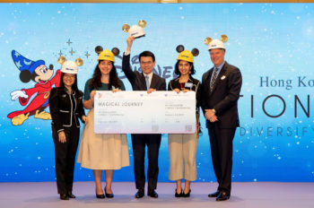 Award Ceremony for Disney ImagiNations Hong Kong Design Competition 2018