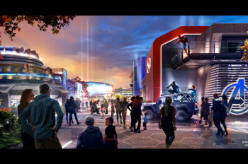 Disneyland Paris reveals new image of Marvel-themed area coming to Walt Disney Studios Park