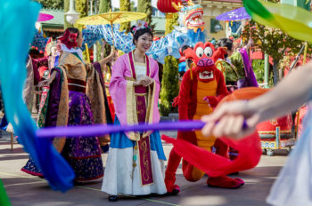 Disneyland Resort Celebrates Lunar New Year with a Touch of Disney Magic, Jan. 25 to Feb. 17, 2019