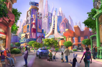 Shanghai Disney Resort Announces New Zootopia-themed Expansion at Shanghai Disneyland