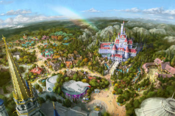 """Experience the World of Beauty and the Beast with the Grand Opening of """"New Fantasyland"""" on April 15, 2020"""