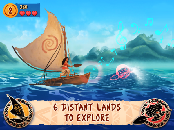 Moana Rhythm Run_screenshot